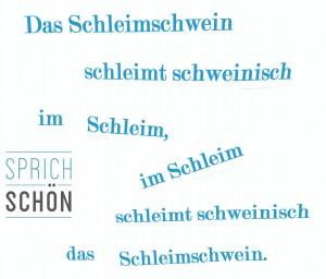 Zungenbrecher deutsch deutsche Aussprache Phonetik sprechen lernen Berlin Lisa Göbel Sprichschön Phonetik Training